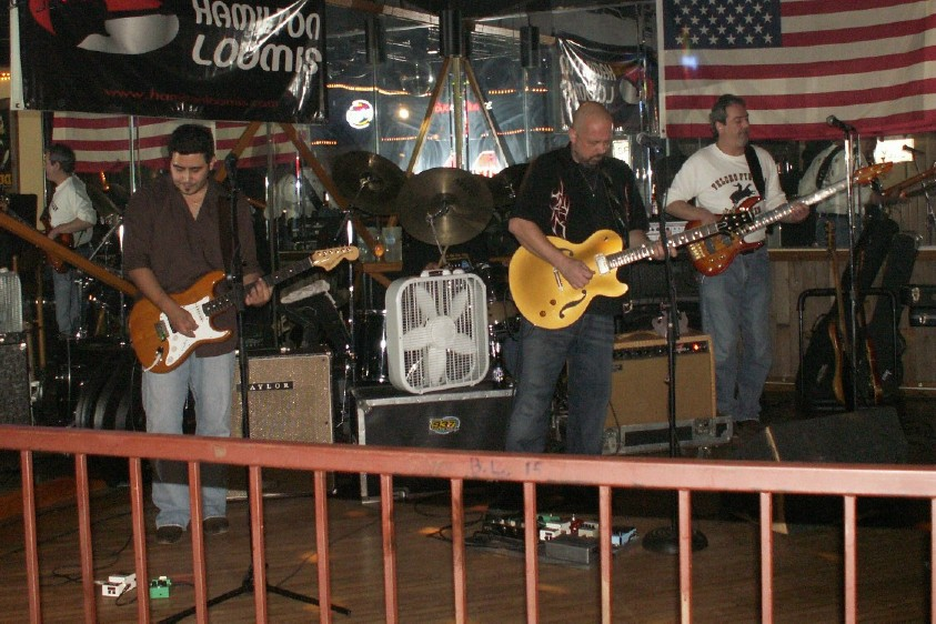 The Mark May Band playing the Blues at 